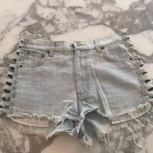 Carmar denim jean shorts 27